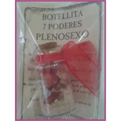 Botellita 7 PODERES -*- PLENOSEXO