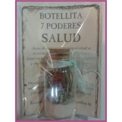 Botellita 7 PODERES -*- SALUD