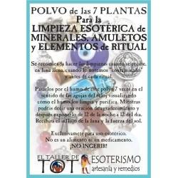 Polvos 7 plantas LIMPIEZA ESOTÉRICA