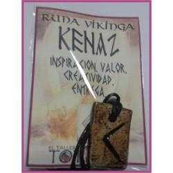 RUNA 06 KENAZ - Colgante