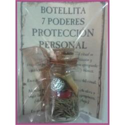 Botellita 7 PODERES -*- PROTECCIÓN PERSONAL