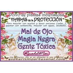 HADAS de la PROTECCIÓN - Polvo de Plantas Inciensadas.