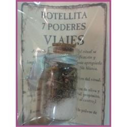 Botellita 7 PODERES -*- VIAJES