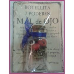 Botellita 7 PODERES -*- MAL de OJO