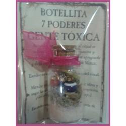 Botellita 7 PODERES -*- GENTE TÓXICA