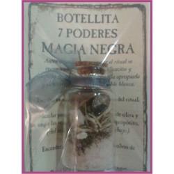Botellita 7 PODERES -*- Contra la MÁGIA NEGRA