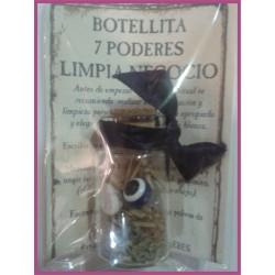 Botellita 7 PODERES -*- LIMPIA NEGOCIOS