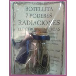 Botellita 7 PODERES -*- RADIACIONES