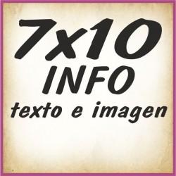7x10 INFO texto e imagenes