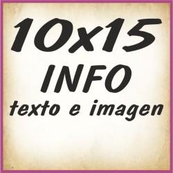 10x15 INFO texto e imagenes