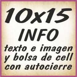 10x15 INFO texto e imagenes y bolsa cell autocierre