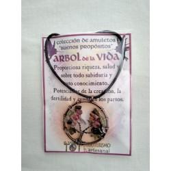 AMULETO BP - ÁRBOL de la VIDA dorado 01