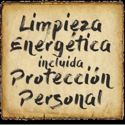 Limpieza Energética (incluye Protección Personal)