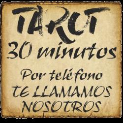 TAROT 30 minutos TELEFÓNICO - Te llamamos