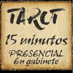 TAROT 15 minutos PRESENCIAL - en gabinete