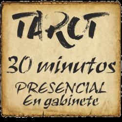 TAROT 30 minutos PRESENCIAL - en gabinete