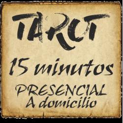 TAROT 15 minutos PRESENCIAL - a domicilio