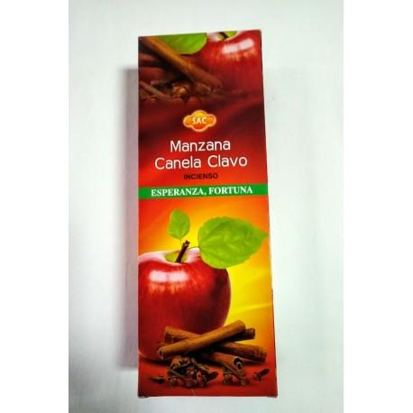 INCIENSO SAC - MANZANA CANELA Y CLAVO