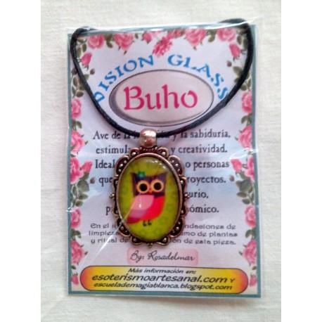 VISION GLASS cabujón BUHO 03