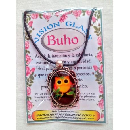 VISION GLASS cabujón BUHO 04