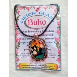 VISION GLASS cabujón BUHO 05