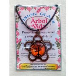 VISION GLASS cabujón ARBOL DE LA VIDA 06