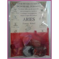 Saquito Minerales -*- ARIES Zodiaco