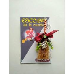 COLGADOR de PARED - ESCOBA de LA SUERTE - BRUJA - 07
