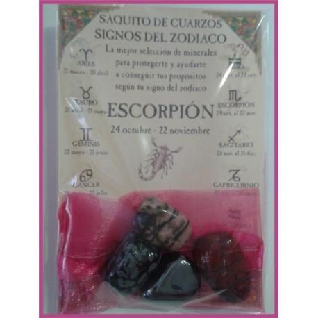 Saquito Minerales -*- ESCORPIO