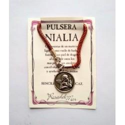Pulsera NIALIA - QUERUBIN PLATEADO 01