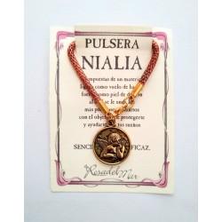 Pulsera NIALIA - QUERUBIN DORADO 01