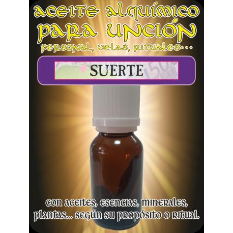 Aceite Alquímico 5 ml. SUERTE