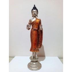 FIGURA - BUDA THAI con pedestal - 37 cm - 01