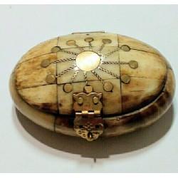 CAJITA DE HUESO ovalada pequeña 9X6 cm - 01