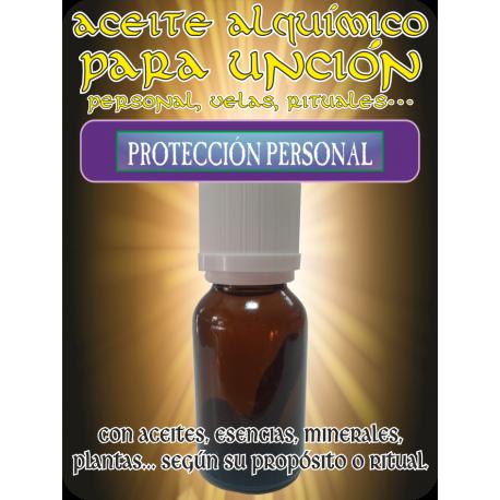 Aceite Alquímico 5 ml. PROTECCIÓN PERSONAL