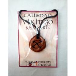 TALISMÁN VIKINGO - Buena suerte - Colgante 02