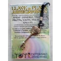LLAVE ABRECAMINOS - plata - 07