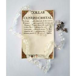 COLLAR - chips - CUARZO CRISTAL