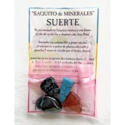 SAQUITO MINERALES - SUERTE