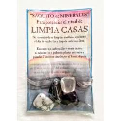 SAQUITO MINERALES - LIMPIA CASAS