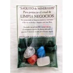 SAQUITO MINERALES - LIMPIA NEGOCIOS