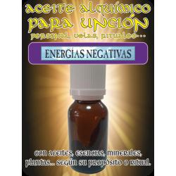 Aceite Alquímico 5 ml. ENERGÍAS NEGATIVAS