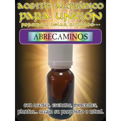 Aceite Alquímico 15 ml. ABRECAMINOS