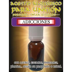 Aceite Alquímico 10 ml. ADICCIONES