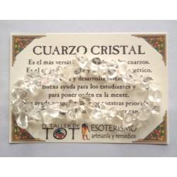 PULSERA chips - CUARZO CRISTAL