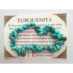 PULSERA chips - TURQUENITA