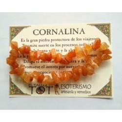 PULSERA chips - CORNALINA