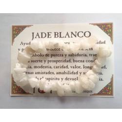 PULSERA chips - JADE BLANCO