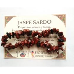 PULSERA chips - JASPE SARDO