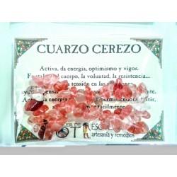 PULSERA chips - CUARZO CEREZO